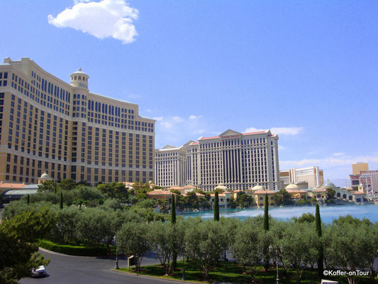 Hotel Bellagio in Las Vegas