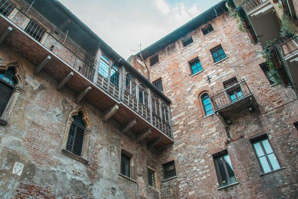 Balkon von Julia in Verona