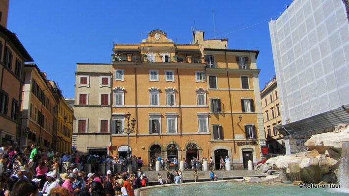 Trevi Brunnen in Rom