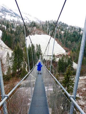 Hängebrücke Hohstalden bei Frutigen