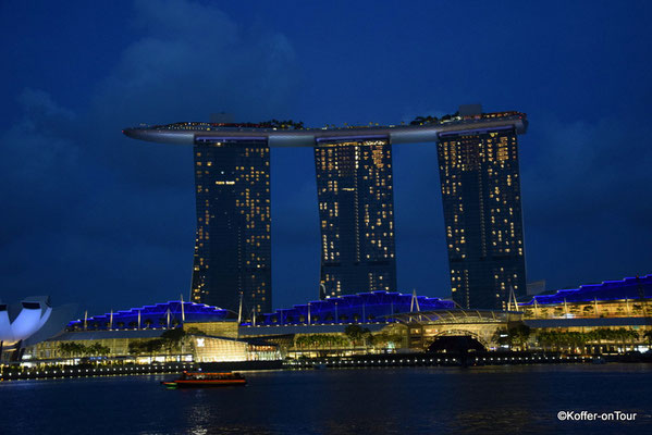 Marina Bay Sands Hotel in Singapur