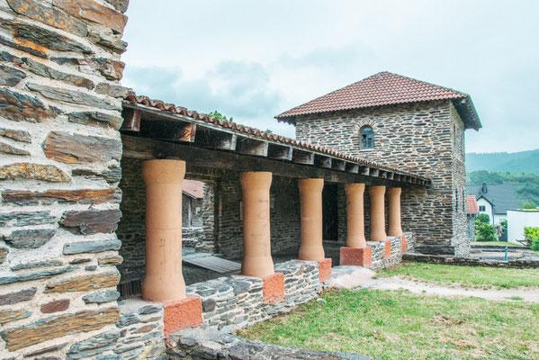 Römische Villa in Mehring an der Mosel