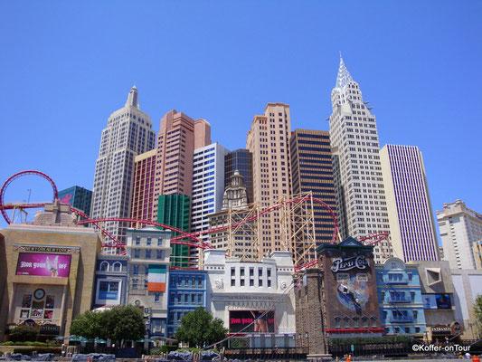 Hotel New York New York in Las Vegas
