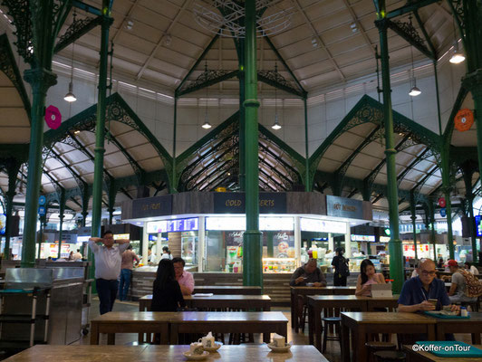 Lau Pa Sat Hawker Center in Singapur