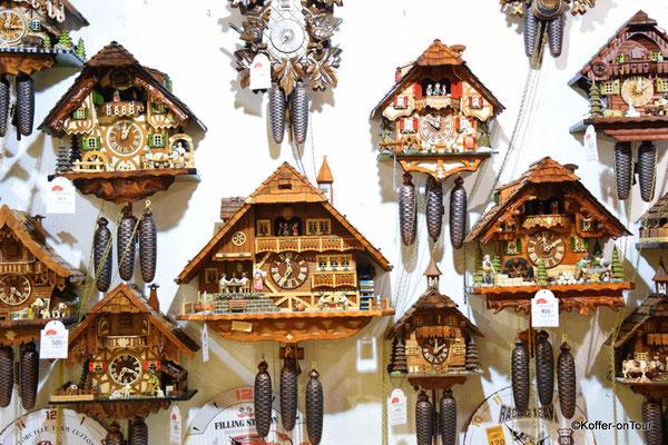 Kuckuksuhren im Schwarzwald