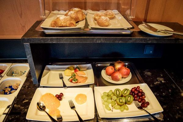 Das Frühstück im Landhotel Hallnberg