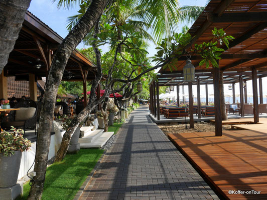 Sanur Strandpromenade