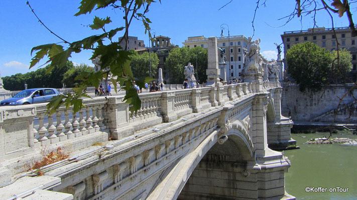 Brücke zur Engelsburg in Rom