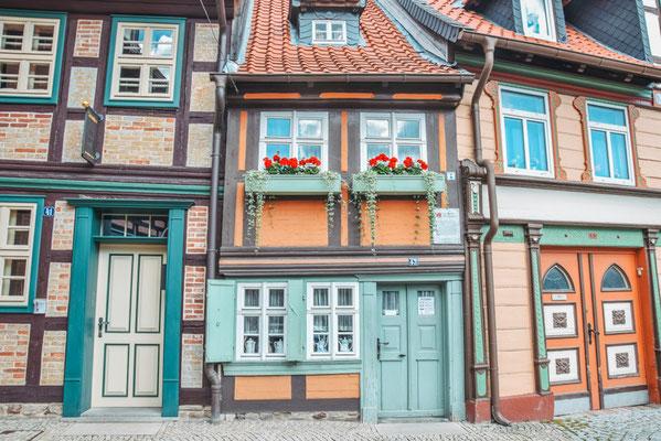 Fachwerkhäuser in Wernigerode