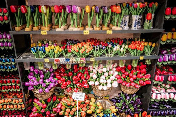 Blumenmarkt in Amsterdam, Bloemenmarkt, Tulpen