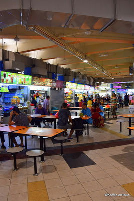Essen in Hawker Centren in Singapur