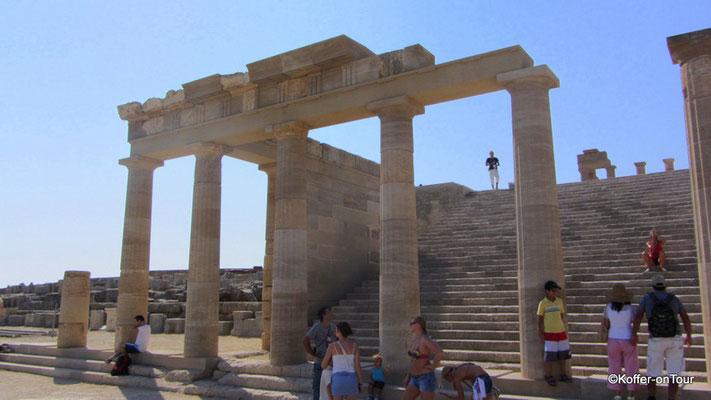 Akropolis bei Lindos