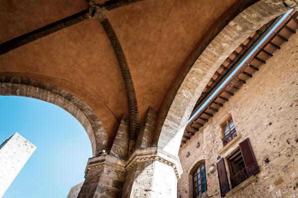San Gimignano in der Toskana