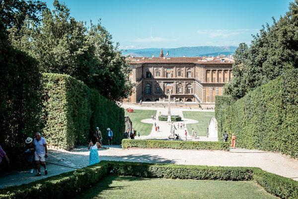 Boboli Garten in Florenz