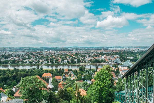 Die Schwebebahn in Dresden