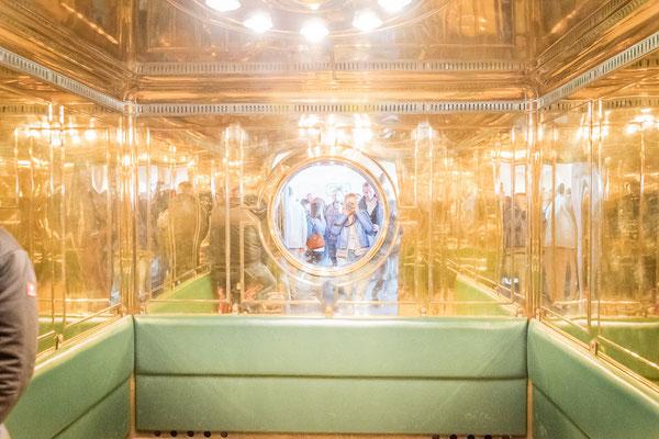 Tunnel zum Goldenen Aufzug Kehlsteinhaus