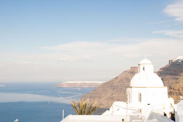Fira auf Santorini