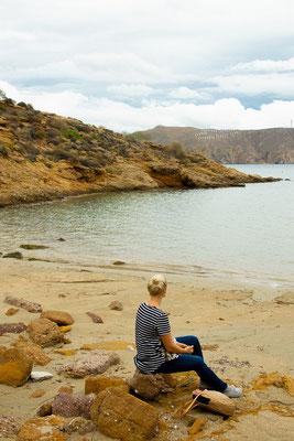 Agios Sostis Beach auf Mykonos
