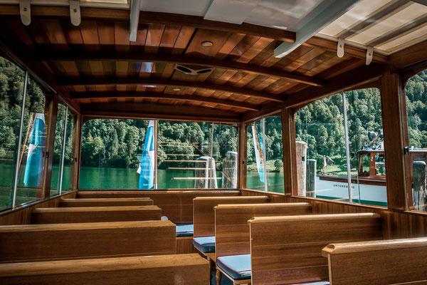 Schiffsfahrt auf dem Königssee