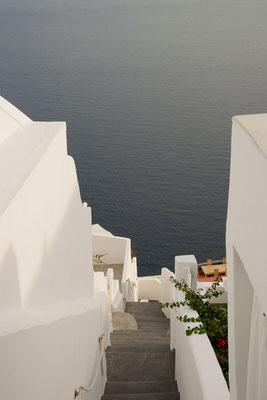Oia auf Santorini