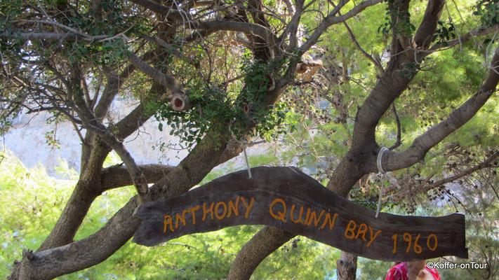 Anthony Quinn Bucht auf Rhodos