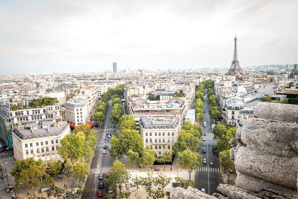 Triumph Bogen in Paris, Beste Aussicht, Frankreich