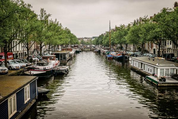 Grachtenring in Amsterdam, Grachten, Kanäle