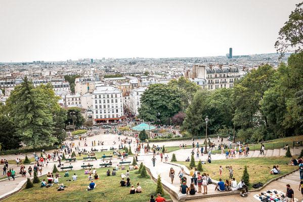 Montmatre, Sacre Coeur, Beste Aussicht, Paris, Frankreich