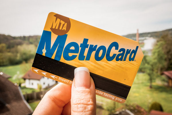 Metro Karte für New York