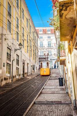 Standseilbahn in Lissabon