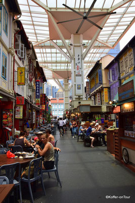Chinatown Food Street in Singapur