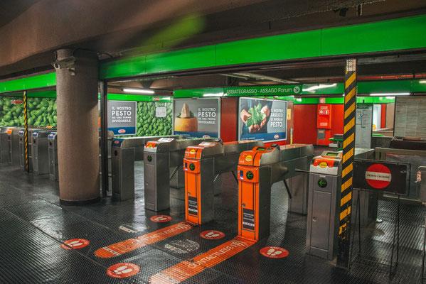 Metro in Mailand