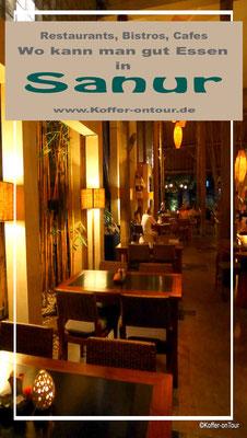 Restaurants in Sanur Bali