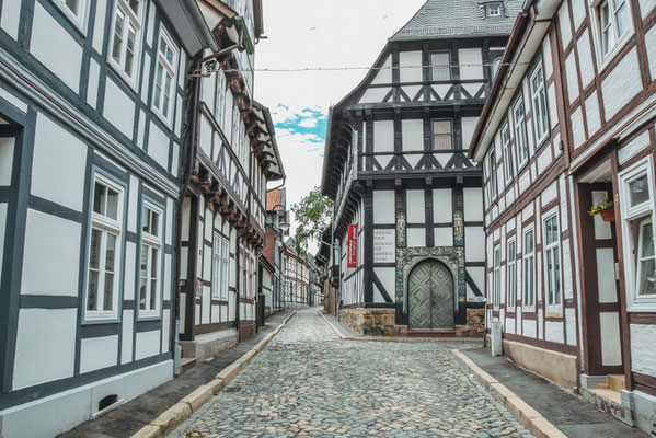 Fachwerkhäuser in Goslar