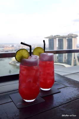 Rooftop Bar in Singapur