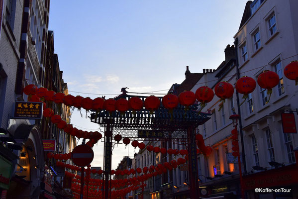 Chinatown in London