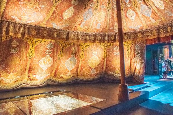 Das Neue Grüne Gewölbe im Residenzschloss in Dresden