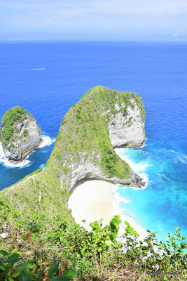 Kelingking Beach auf Nusa Penida