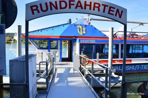 Schifffahrt in Waldshut