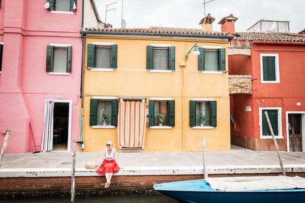 Burano, bunte Insel bei Venedig