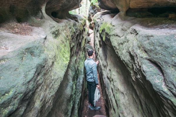 Felsenlabyrinth in der Sächsischen Schweiz