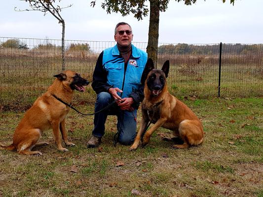 Thierry avec Fanguy et Lycos