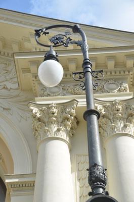 Pendelleuchte am Konzerthaus Ravensburg - Bild: Dr. Dietmar Hawran