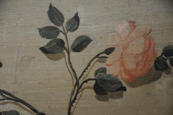 restaurierte Täfermalerei  - Bild Architekturbüro Allgayer