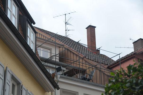 Bachstraße 36 - Dachterrasse Nord - Bild: Dr. Dietmar Hawran