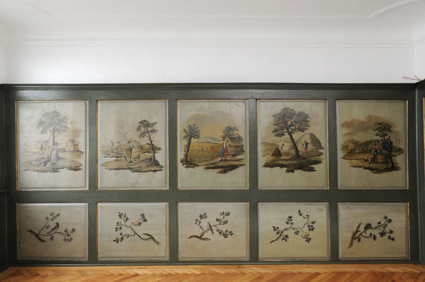 restaurierte Täfermalereien - Bild Architekturbüro Allgayer
