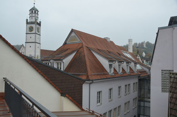 Foto: Dr. Dietmar Hawran, Blick von der Dachterasse Richtung Seelbruckstraße