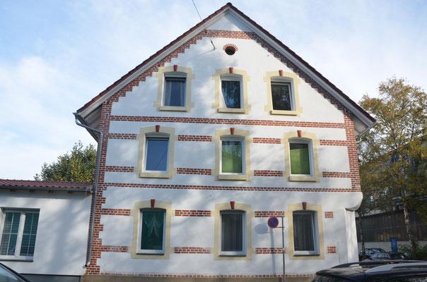 """Wohn- und Geschäftshaus """"Steinzeit""""- Bild: Dr. Dietmar Hawran"""