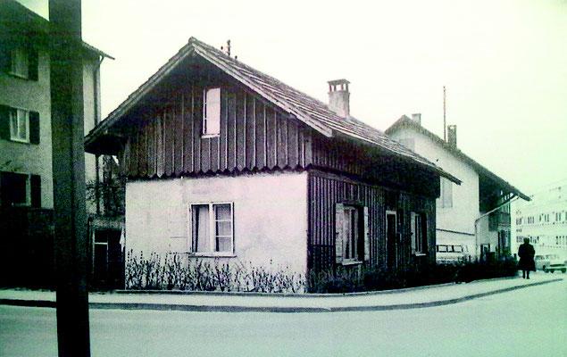 der Bahnhofsschuppe Anfang des 20. Jahrunderts -  Quelle: Stadtarchiv Ravensburg