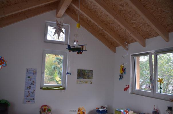 das Kinderzimmer im Dachgeschoss - Bild: Dr. Dietmar Hawran